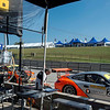 On the pit straight are a new set of hospitality tents that make watching racing a luxe affair.  That #27 Porsche is another example of how dentists have too much disposable income.