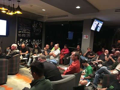 Sonora Rally 2018 - Day 0 - Racer meeting before Day 0 Tech and Prologue