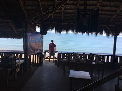Sonora Rally 2018 - Day 4 - Michael contemplating a life in Bahia Kino