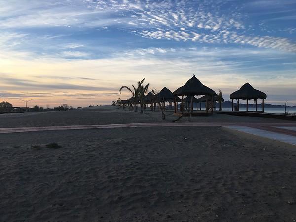 Sonora Rally 2018 - Day 4 - Sunrise on Bahia Kino