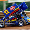 Daryn Pittman at an All Star race at Lincoln in June 2009.