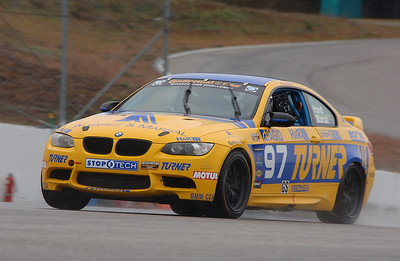 Driving the Turner Motorsport Continental Challenge M3 in the rain at NHIS, Fall 2010.