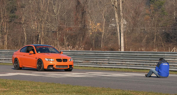 Shooting the Turner Motorsport-tuned M3 Lime Rock Park Edition on the front straight at Lime Rock Park.