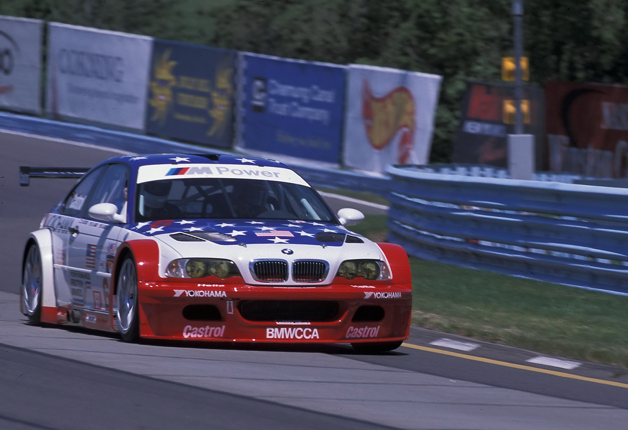 Riding with Boris Said in the V8 M3 GTR at Watkins Glen in 2002, during the Glen Historics weekend. Boris was going flat out and did a 1:56 lap with me in the car. One of the greatest experiences of my automotive journalist career! (Brian Hollingsworth photo)