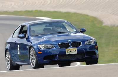 Driving the BMW M3 with the Competition Package at Watkins Glen, August 2010. (TrackTime photo)