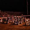 USMTS 4 wide at Salina Highbanks Speedway