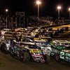 USMTS salute at Humboldt Speedway