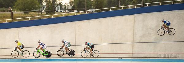 July 6, 2012 Giordana Velodrome, Rock Hill, SC.  A&B Racers