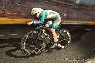 Holly races the 2016 Charlotte Motor Speedway time trial series.