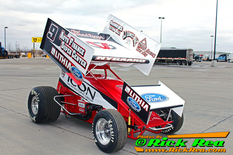 Wade Nygaard 2014 Outlaw Sprint Car