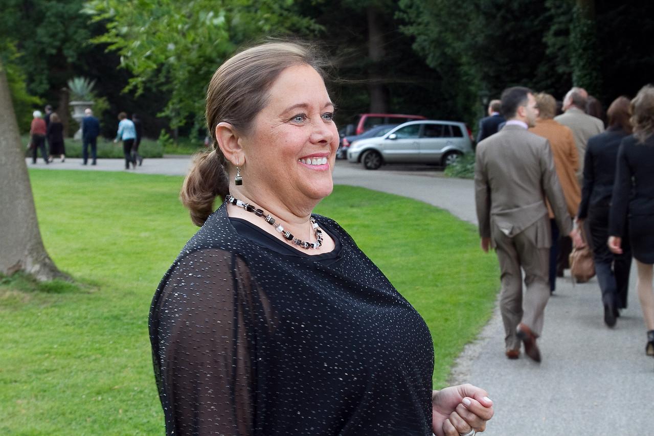 Deborah Mihaloff heading to Duivenvoorde Castle