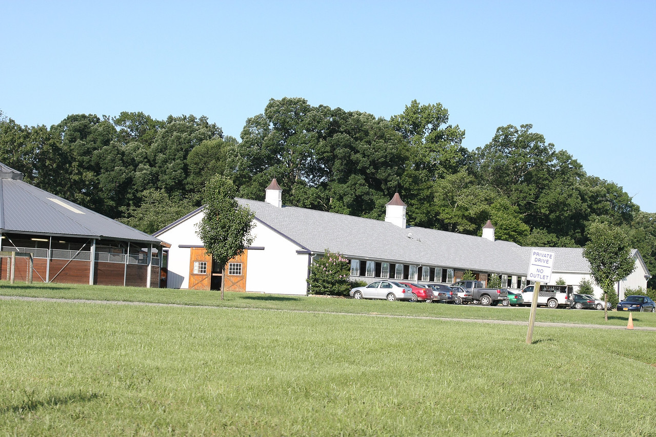 One of training barns at Fairhill