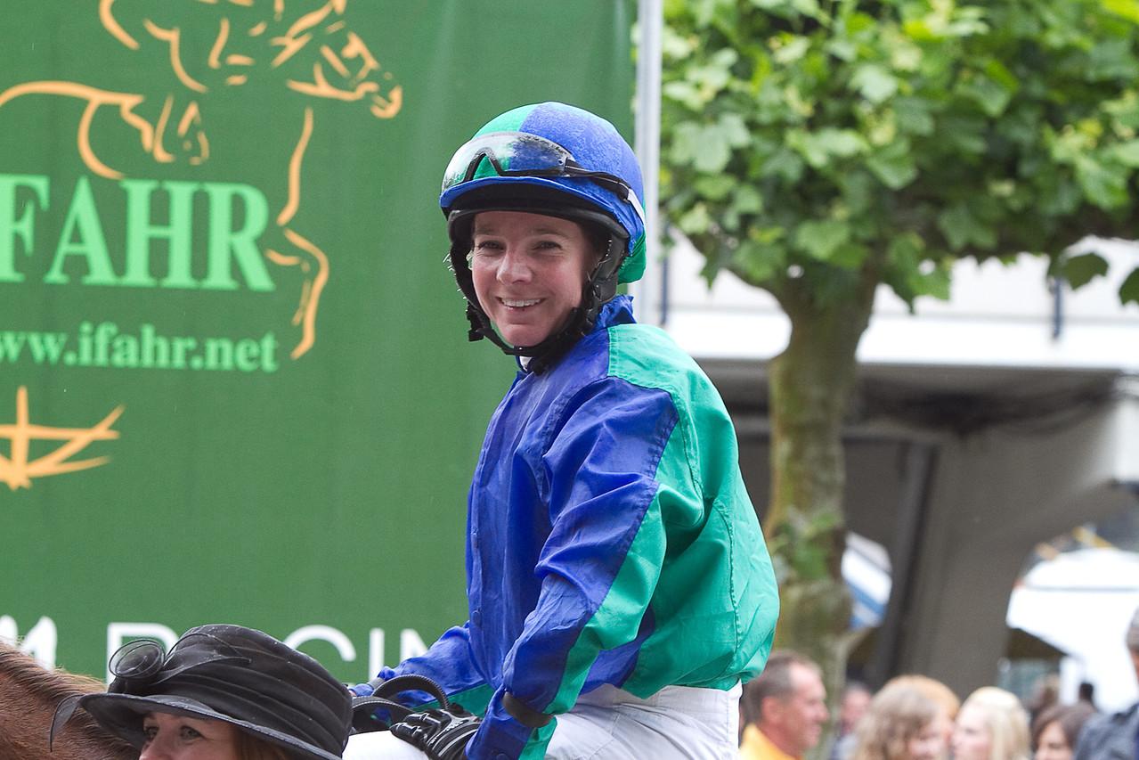 Jockey Josephine Bruning winner on Serouda du Breuil IFAHR Cup