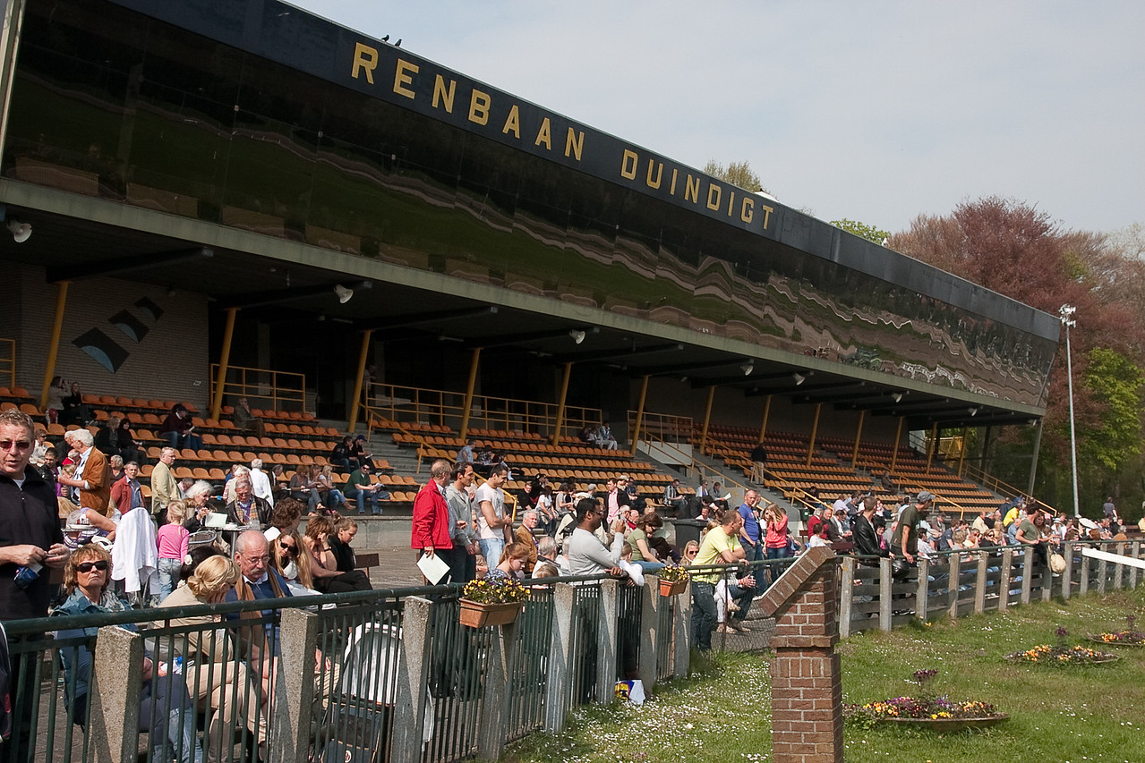7. The Grandstand on a warm day