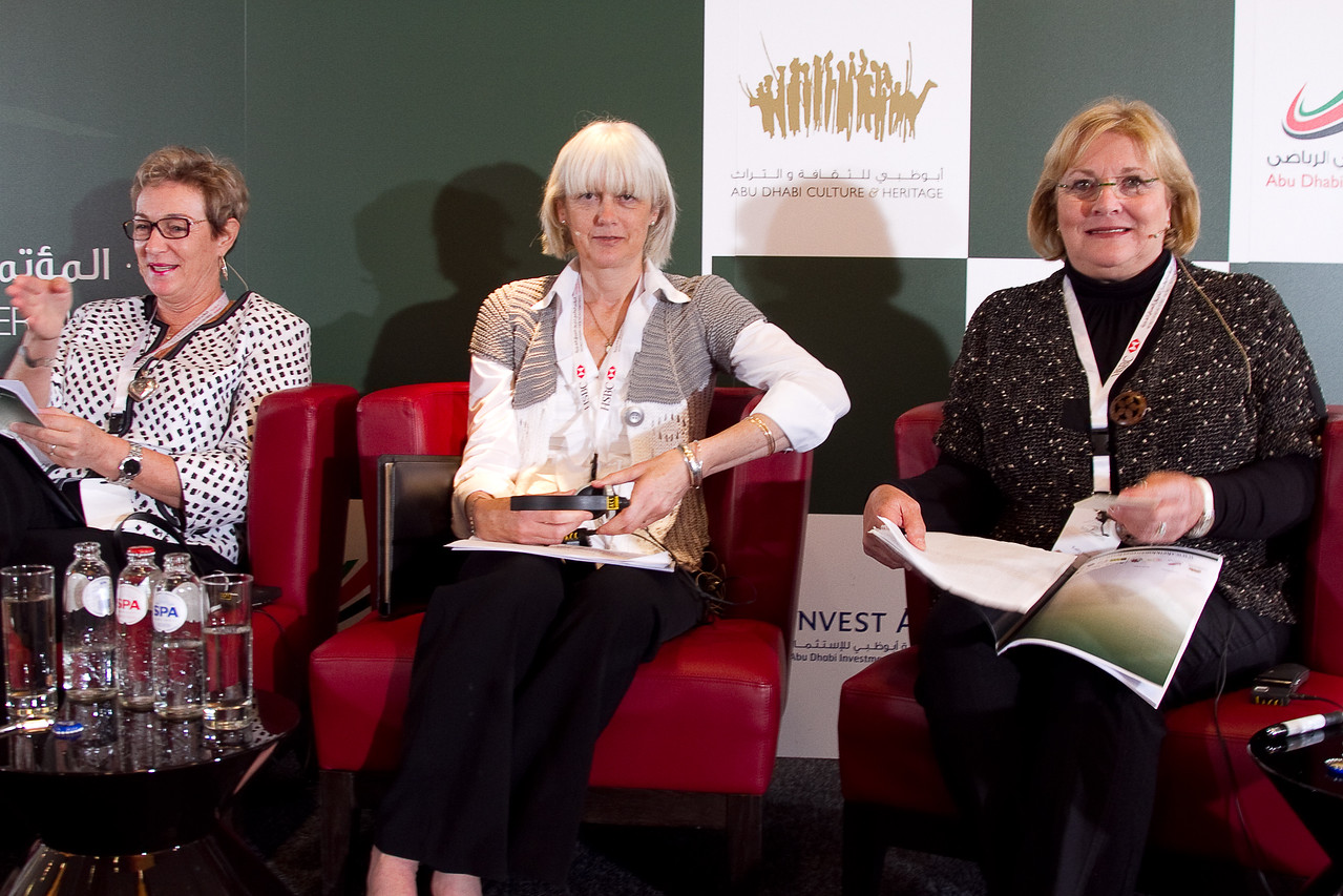 Panel - Hannie Maasdijk (NETH), Genny Haynes (UK), Kathy Smoke (US)