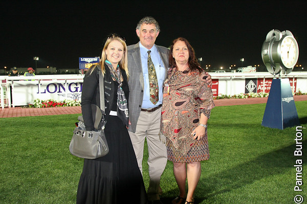 Al Shahania Mgr, Alexandra Newman, Tood and Rene Moak