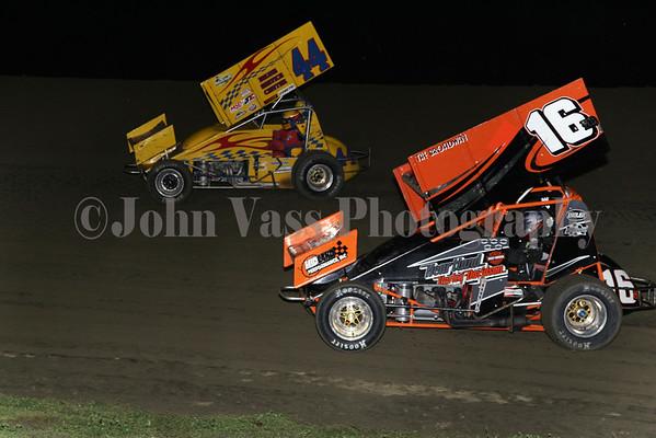 34 Raceway MOWA Sprints 9-22-12