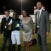126. Susanna Santesson and winning apprentice jockey, Collen Thabana, SA