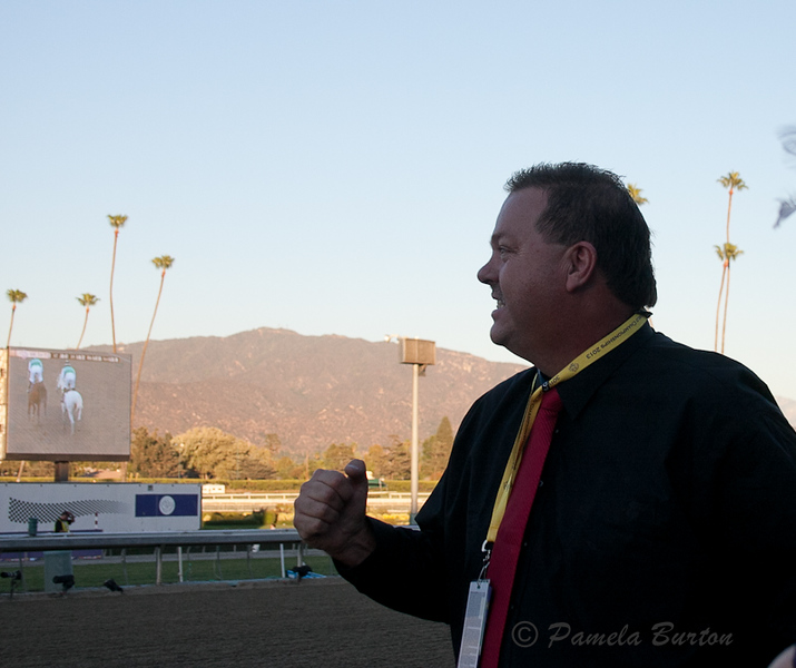 """7. Mark Powell after win...""""Yes!"""""""