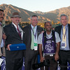 2. President's Cup officials and press from Abu Dhabi - far right Craig Fravel, Pres, CEO Breeders' Cup Limited