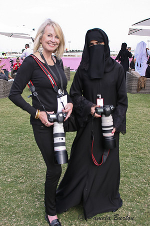 The Doha camera unit...lovely lady in black