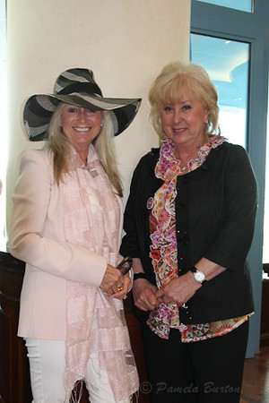 Susan George and Val Bunting