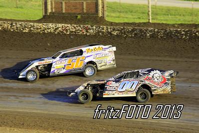 USMTS @ Kennedale Speedway Park, 6-27-13