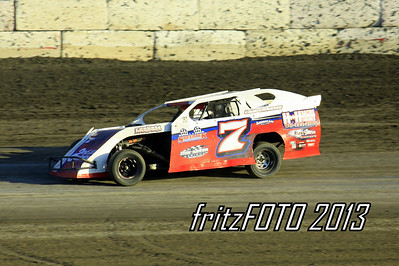 Chase Allen @ RPM Speedway, USMTS racing action. 6-28-13