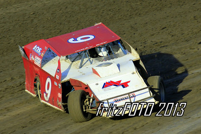 Jimmy Ray @ RPM Speedway, USMTS racing action. 6-28-13