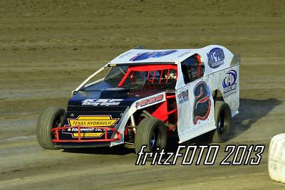 Chris Huckeba @ RPM Speedway, USMTS racing action. 6-28-13