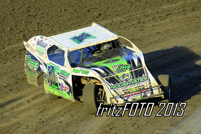 Johnny Scott @ RPM Speedway, USMTS racing action. 6-28-13