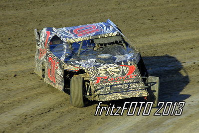 Joey Galloway @ RPM Speedway, USMTS racing action. 6-28-13