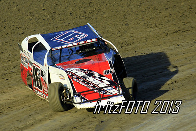 Cody Smith @ RPM Speedway, USMTS racing action. 6-28-13