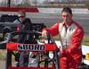 Mike Sboro runs in the USAC Ford Foruc midget division
