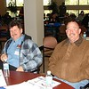Happy attendants KIM SHERBERT and MARK TREADWAY