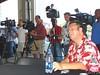 PR guy Steve Post and the press