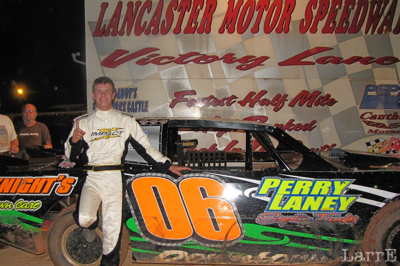 Downtown Michael Brown is a real racer!