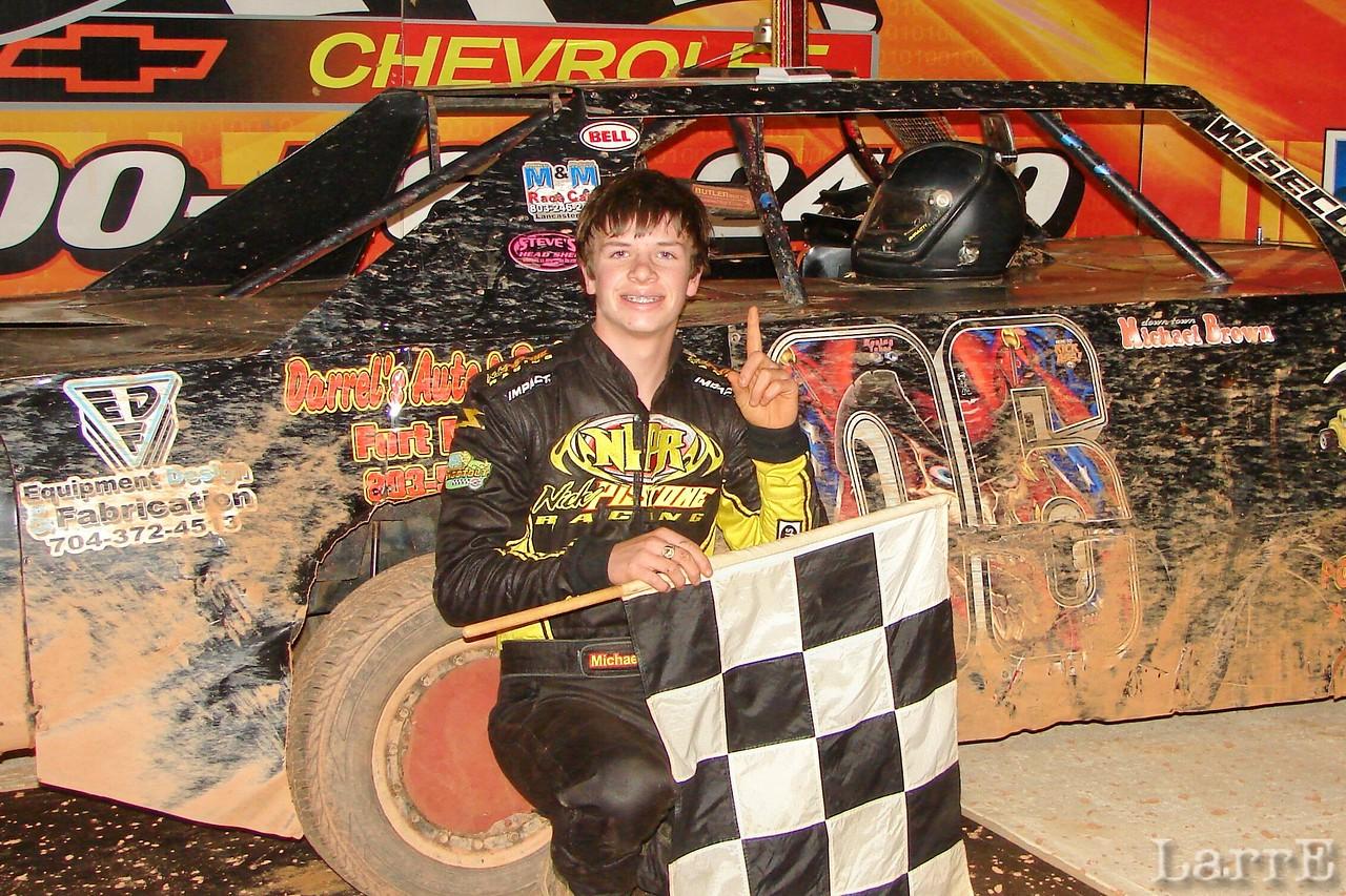 """Downtown"" Michael Brown, 4 cylinder winner"