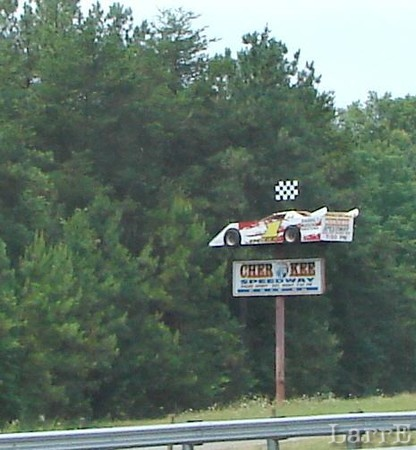 Mike's home track is Cherokee Speedway in Gaffney, South Carolina