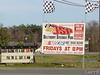 Speedway entrance on highway 80 Pooler, Georgia