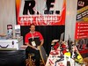 Racing Electronics had Ron Rater on hand to answer questions