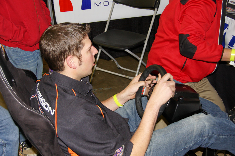 Kyle Strickler and the irace computer game