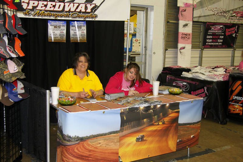 Cleveland County had a booth..with some very nice photos on display....thanks Tammi