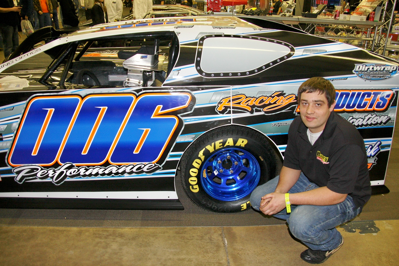 Derrick Ramey will drive another modified with #006 on  it