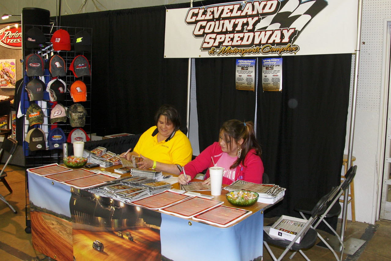 Cleveland County Speedway (the old Thunder Valley track) has the best pit view for watching the races