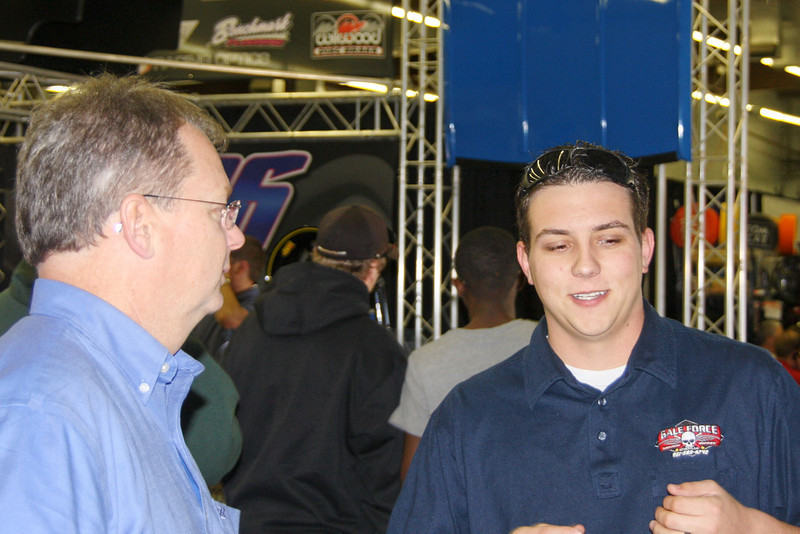 Chris Weidrich  (iRacing) talks with Cayle Gale about his NASCAR truck ride