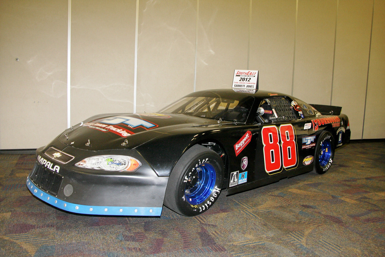 Garrett Jones 2012 SouthEast Limited Late Model Challenger Champion