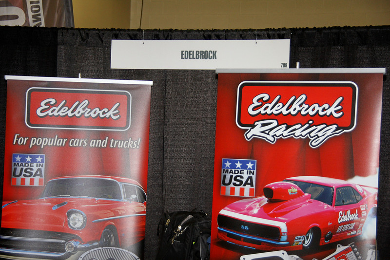 Edelbrock has been making racing parts for over half a century.