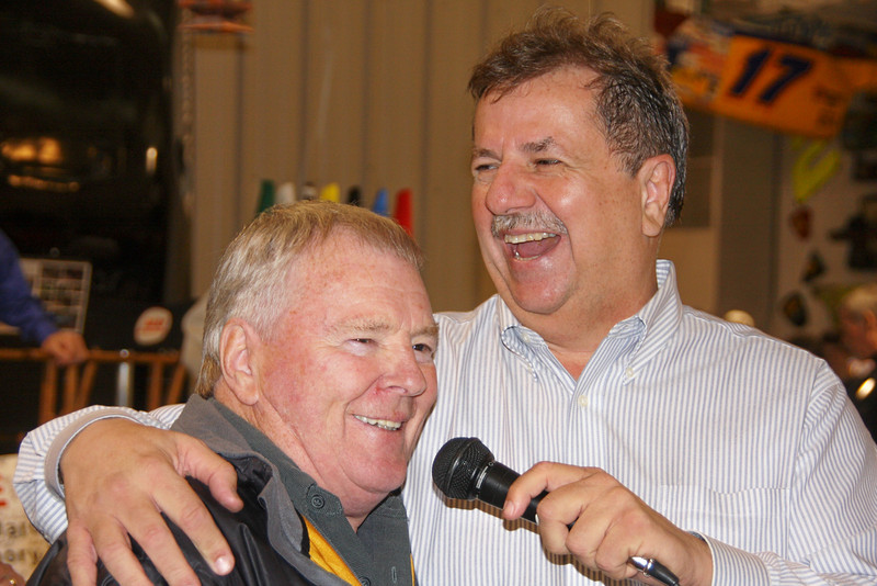 Dick Trickle and Duane Goins....(no caption I could legally print here)
