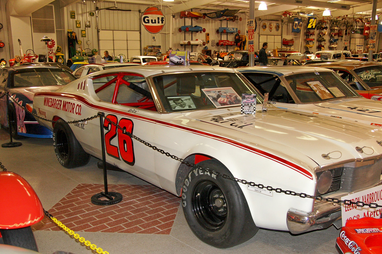 More race cars than you can imagine are on display at Memory Lane